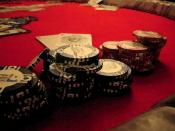 Painted Poker Chips Wallpaper